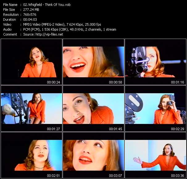 Whigfield HQ Videoclip «Think Of You»