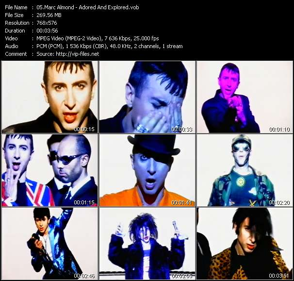 Marc Almond HQ Videoclip «Adored And Explored»