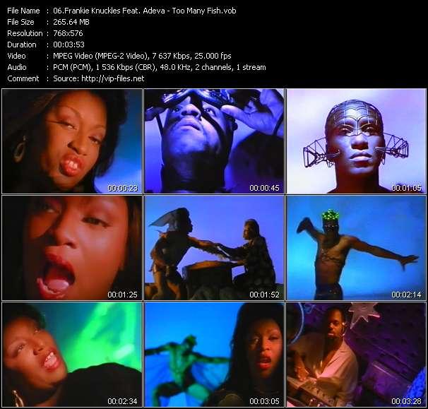 Frankie Knuckles Feat. Adeva HQ Videoclip «Too Many Fish»