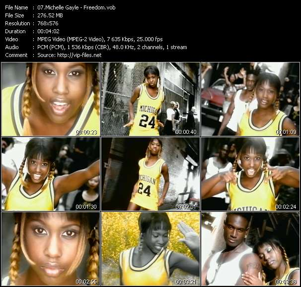 Michelle Gayle HQ Videoclip «Freedom»