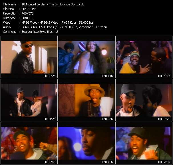 Montell Jordan HQ Videoclip «This Is How We Do It»
