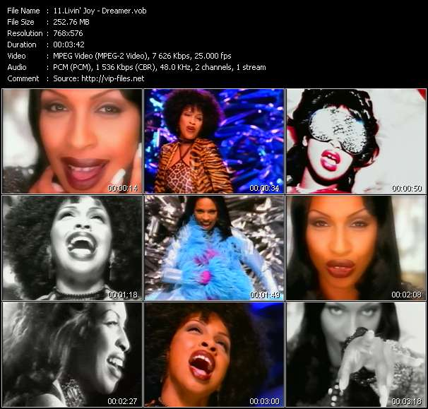 Livin' Joy HQ Videoclip «Dreamer»