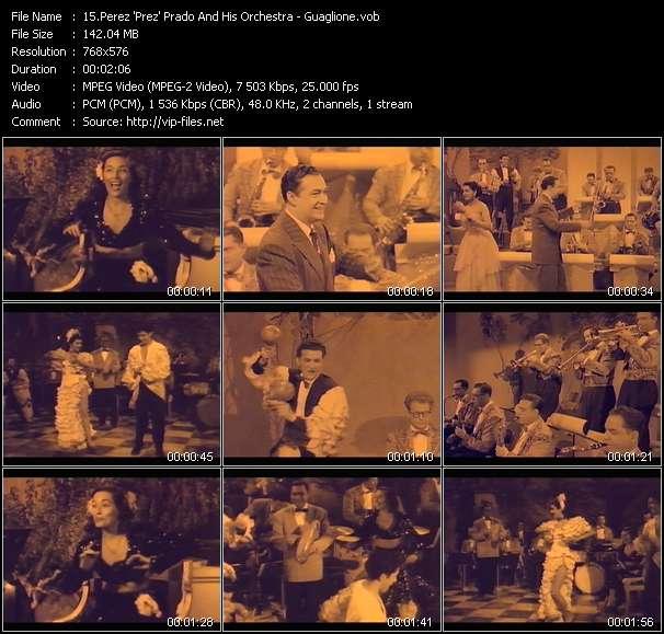 Perez 'Prez' Prado And His Orchestra HQ Videoclip «Guaglione»