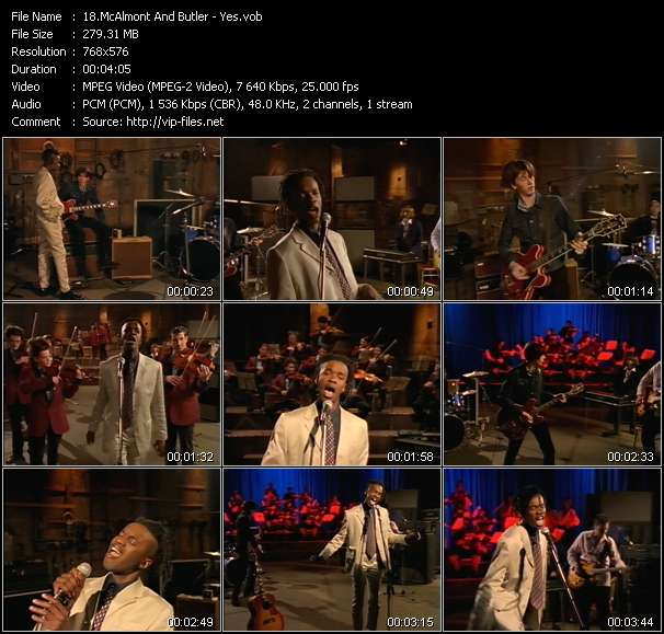 McAlmont And Butler HQ Videoclip «Yes»