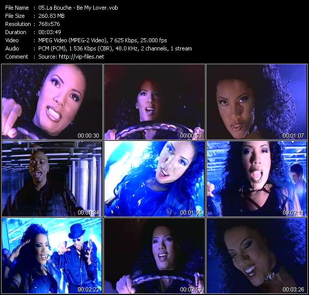 La Bouche music video Publish2
