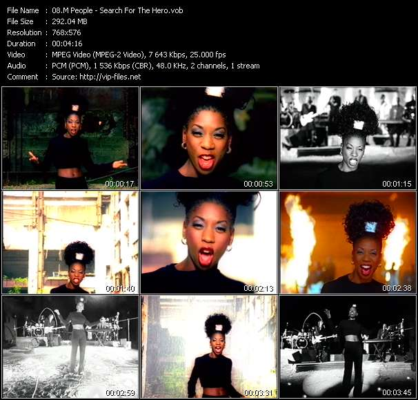 M People video - Search For The Hero