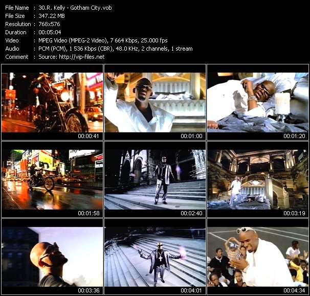 R. Kelly video - Gotham City