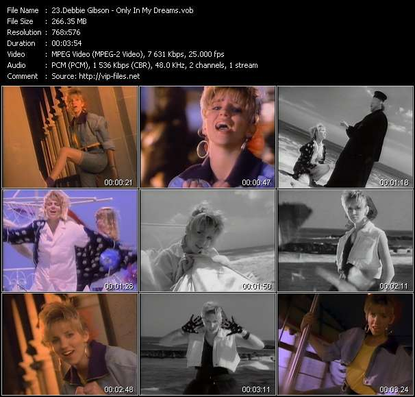 Debbie Gibson HQ Videoclip «Only In My Dreams»