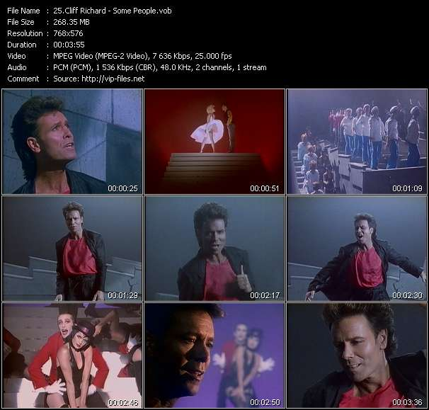 Cliff Richard video - Some People