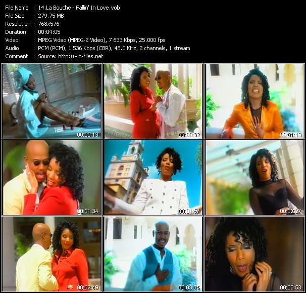 La Bouche video - Fallin' In Love