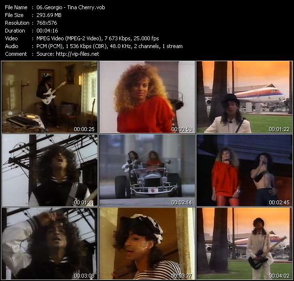 Georgio video - Tina Cherry