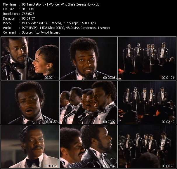 Temptations video - I Wonder Who She's Seeing Now
