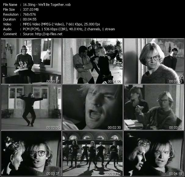 Sting video - We'll Be Together