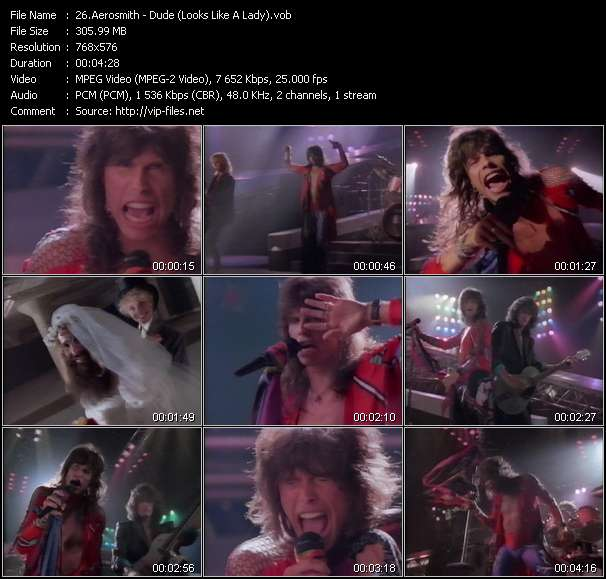 Aerosmith music video Novafile