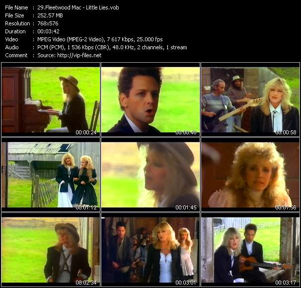 Fleetwood Mac video - Little Lies