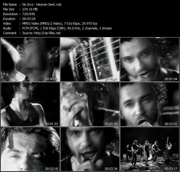 Inxs video - Heaven Sent