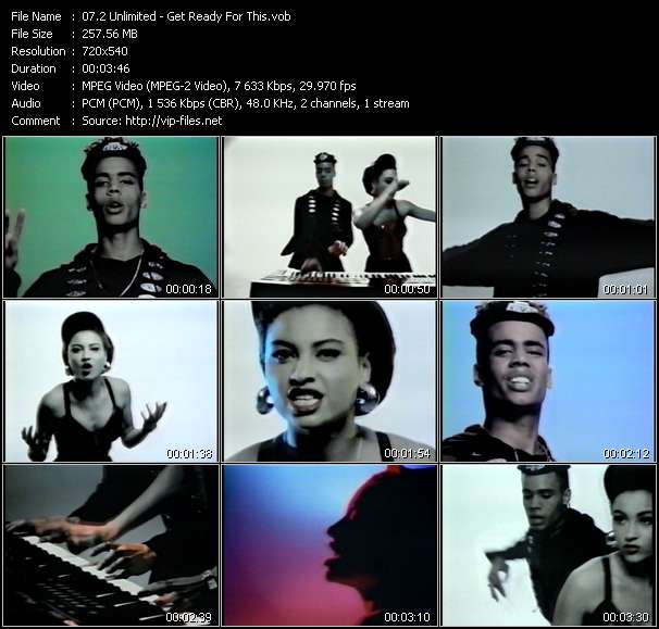 2 Unlimited music video Publish2