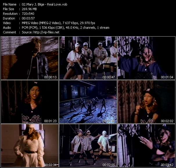Mary J. Blige video - Real Love
