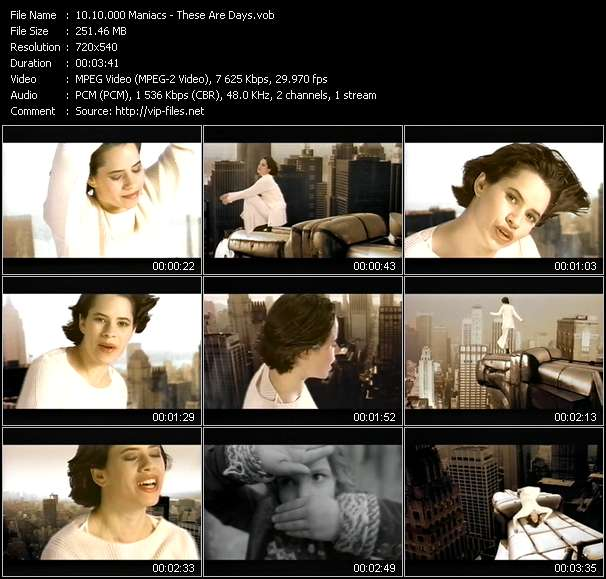 10.000 Maniacs video - These Are Days