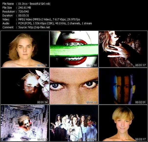 Inxs video - Beautiful Girl