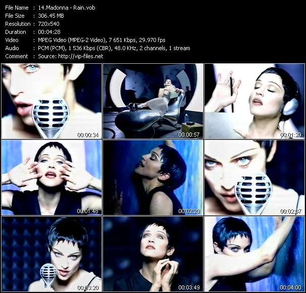 Madonna video - Rain