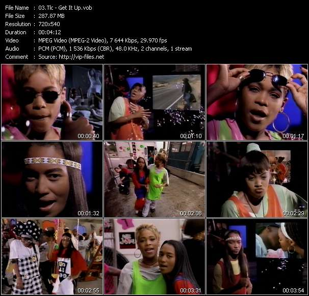 Tlc HQ Videoclip «Get It Up»