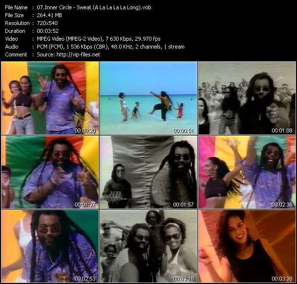 Inner Circle HQ Videoclip «Sweat (A La La La La Long)»