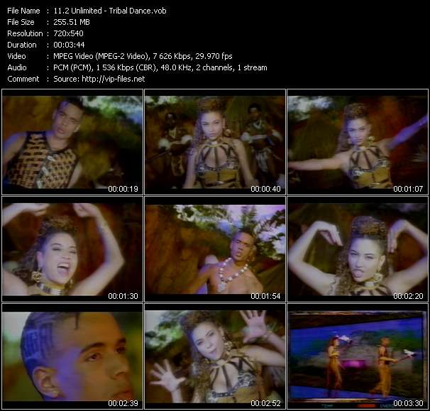 2 Unlimited video - Tribal Dance