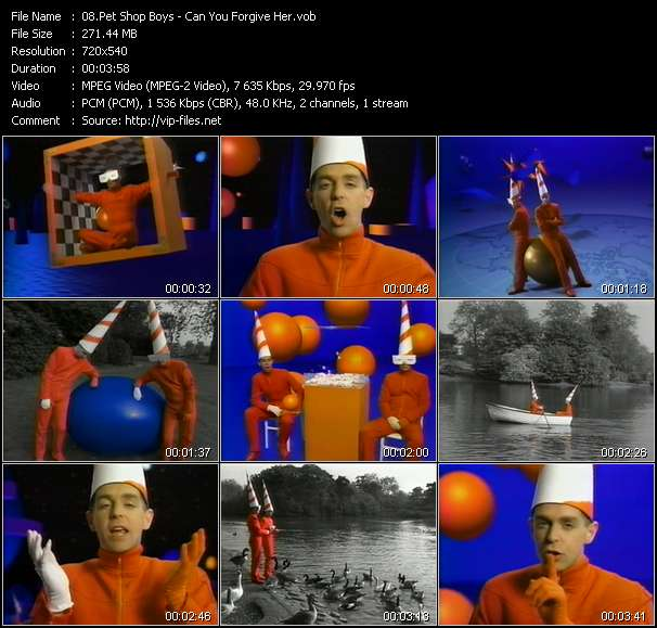 Pet Shop Boys video - Can You Forgive Her?