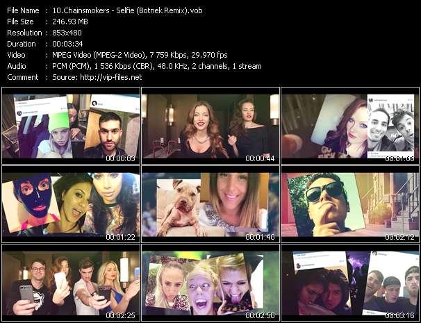 Chainsmokers HQ Videoclip «Selfie (Botnek Remix)»