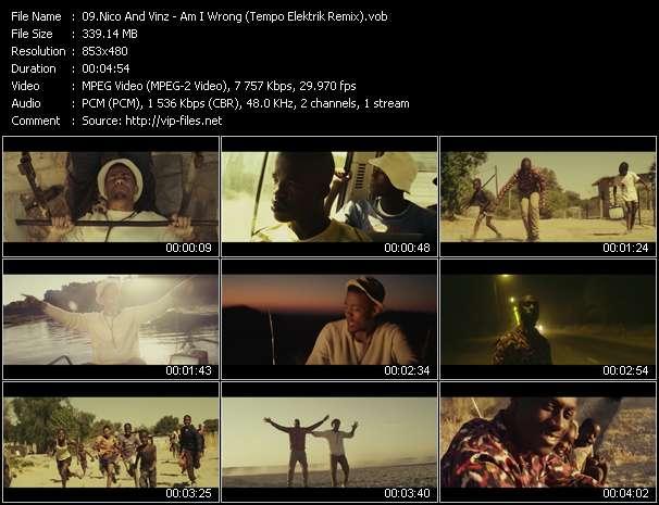 Nico And Vinz HQ Videoclip «Am I Wrong (Tempo Elektrik Remix)»