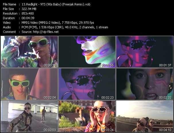 Redlight HQ Videoclip «9TS (90s Baby) (Freejak Remix)»