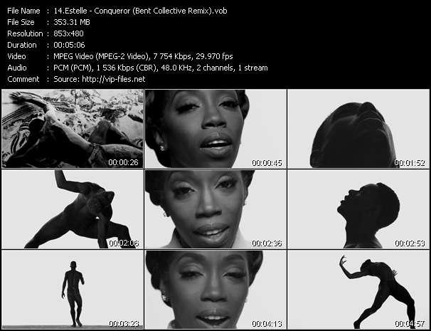 Estelle HQ Videoclip «Conqueror (Bent Collective Remix)»