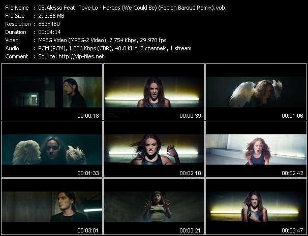 Alesso Feat. Tove Lo HQ Videoclip «Heroes (We Could Be) (Fabian Baroud Remix)»