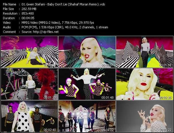 Gwen Stefani video - Baby Don't Lie (Shahaf Moran Remix)