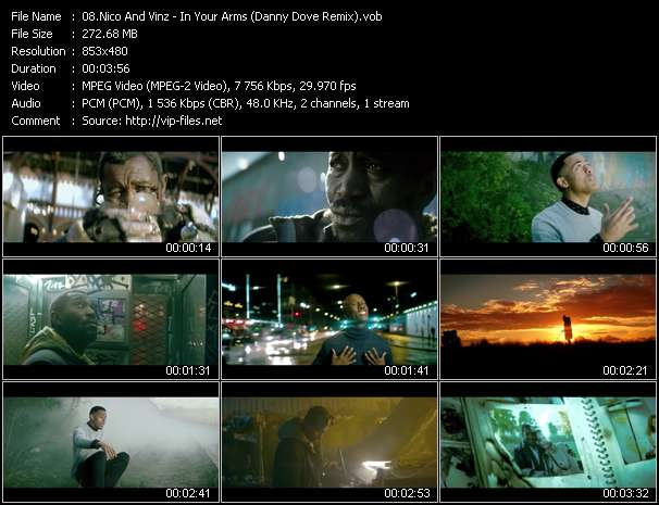 Nico And Vinz HQ Videoclip «In Your Arms (Danny Dove Remix)»