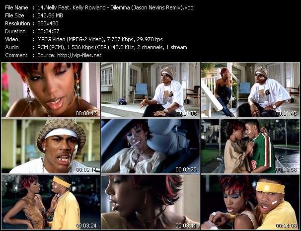 Nelly Feat. Kelly Rowland video - Dilemma (Jason Nevins Remix)
