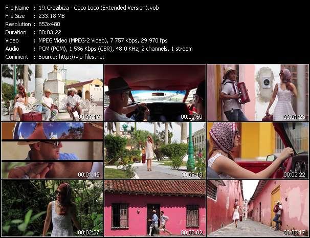 Crazibiza HQ Videoclip «Coco Loco (Extended Version)»
