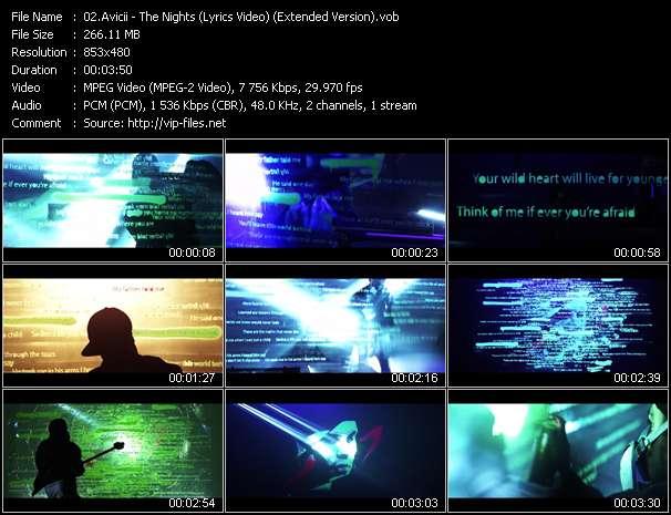 Avicii video - The Nights (Lyrics Video) (Extended Version)
