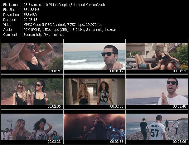 Example video - 10 Million People (Extended Version)