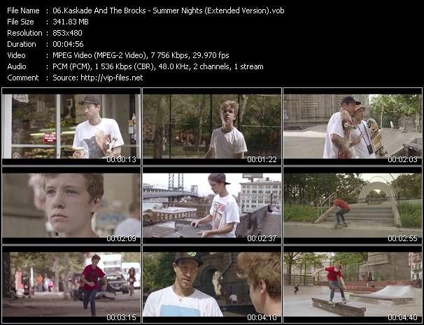 Kaskade And The Brocks video - Summer Nights (Extended Version)