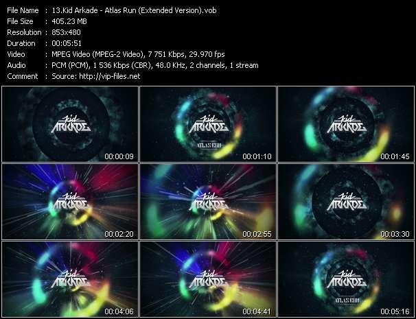 Kid Arkade video - Atlas Run (Extended Version)