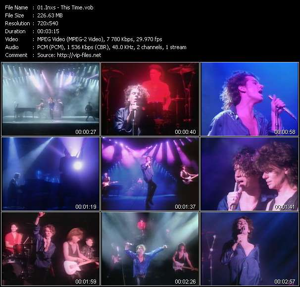 Inxs HQ Videoclip «This Time»