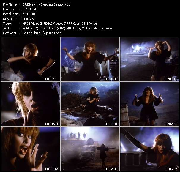 Divinyls HQ Videoclip «Sleeping Beauty»