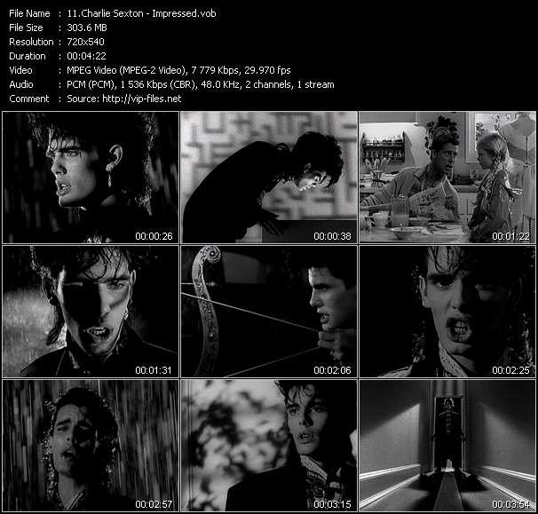 Charlie Sexton HQ Videoclip «Impressed»