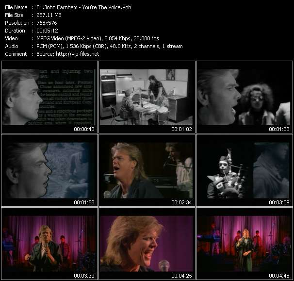 John Farnham HQ Videoclip «You're The Voice»