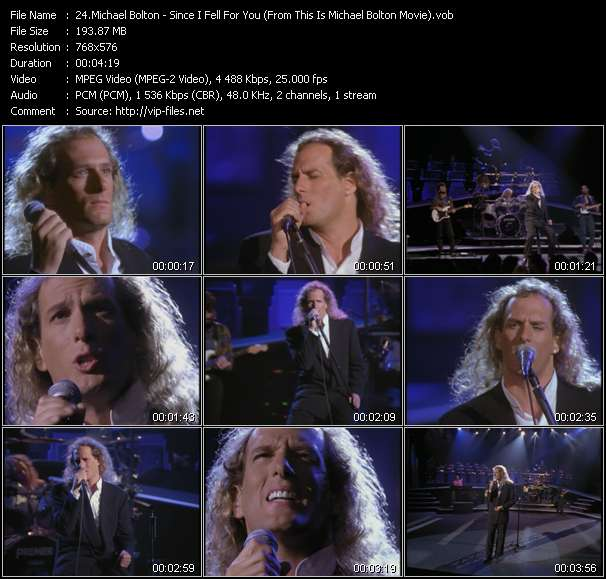 """Michael Bolton HQ Videoclip «Since I Fell For You (From """"This Is Michael Bolton"""" Movie)»"""