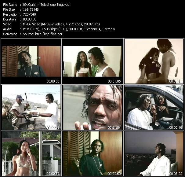 Kiprich video - Telephone Ting