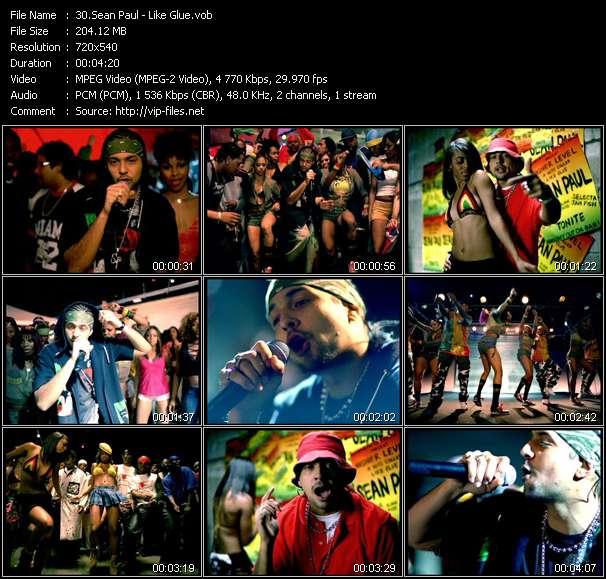 Sean Paul video - Like Glue