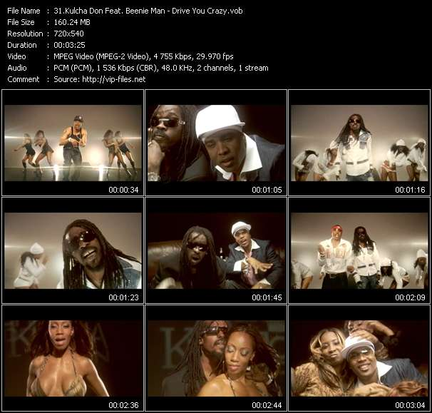 Kulcha Don Feat. Beenie Man video - Drive You Crazy
